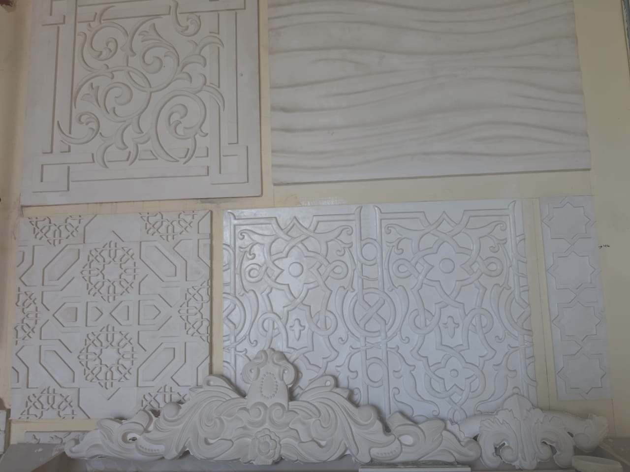 GRG (Glass Fiber Reinforced Gypsum)